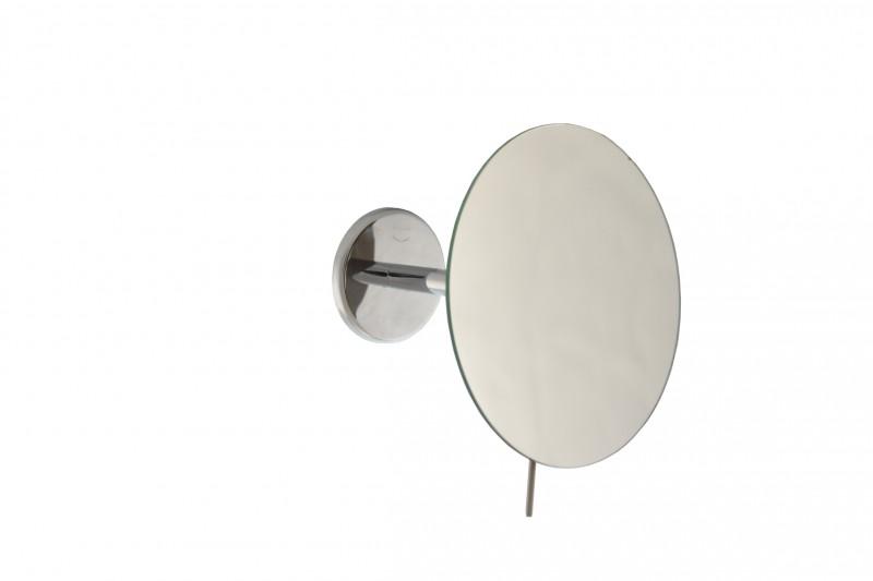Wand-Kosmetikspiegel, Ø 18cm, 3-fach