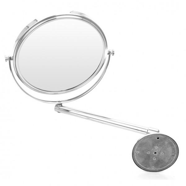 Wand-Kosmetikspiegel, Ø 19cm, 3-fach – Bild 3