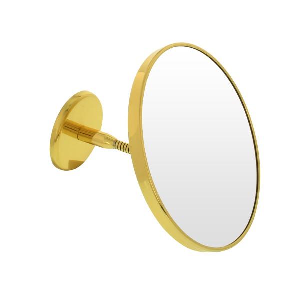 Wand-Kosmetikspiegel, Ø 19cm, 3-fach, Schwanenhals – Bild 1