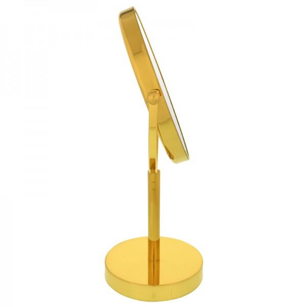 Stand-Kosmetikspiegel, Ø 19-23cm, 3-fach – Bild 2