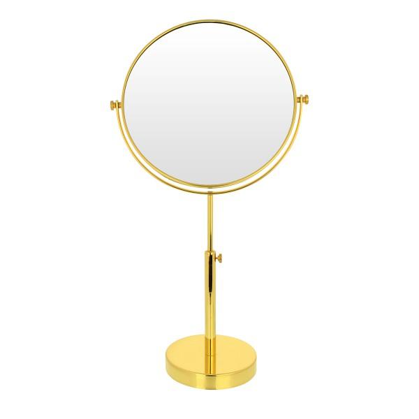 Stand-Kosmetikspiegel, Ø 19-23cm, 3-fach, höhenverstellbar – Bild 4