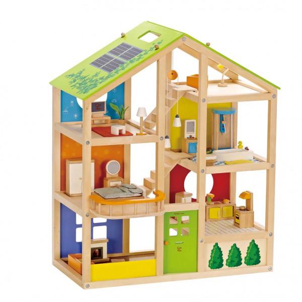 """Puppenhaus """"Vier-Jahreszeiten"""" (möbliert) – Bild 1"""
