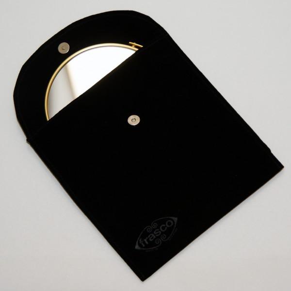 Taschenspiegel mit Etui, Ø 7 - 12,5cm, 5-fach – Bild 4