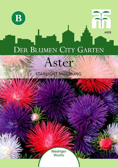 Aster Starlight Mischung | Asternsamen von Thompson & Morgan