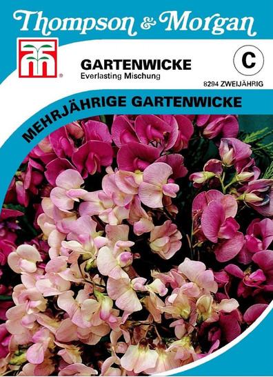 Gartenwicke Everlasting Mischung | Gartenwickesamen von Thompson & Morgan [MHD 01/2020]