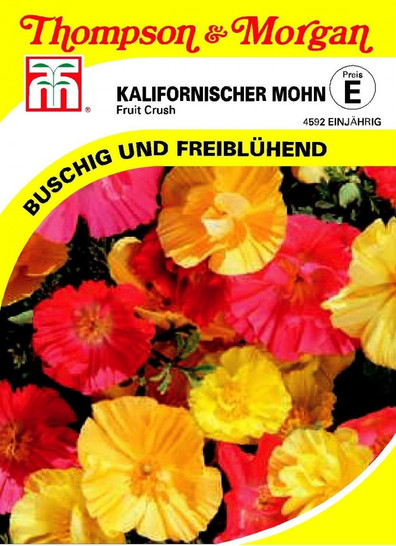 Kalifornischer Mohn Fruit Crush von Thompson & Morgan