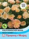 Kalifornischer Mohn Peach Sorbet   Mohnsamen von Thompson & Morgan