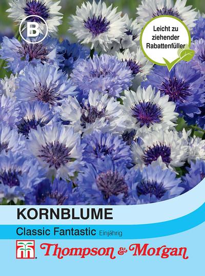 Kornblume Classic Fantastic | Kornblumensamen von Thompson & Morgan