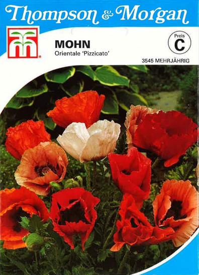 Mohn orientale Pizzicato von Thompson & Morgan
