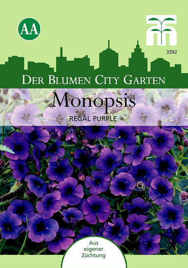 Monopsis (falsche Lobelia) Regal Purple von Thompson & Morgan