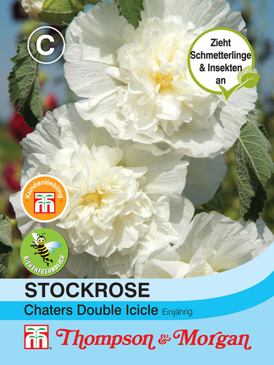 Stockrose Chaters Double Icicle von Thompson & Morgan