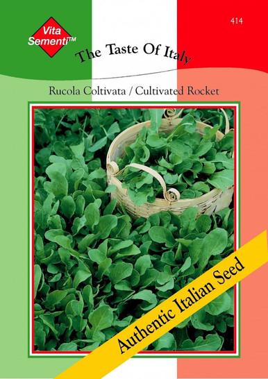 Italienische Rauke Rucola Coltivata | Raukesamen von Thompson & Morgan