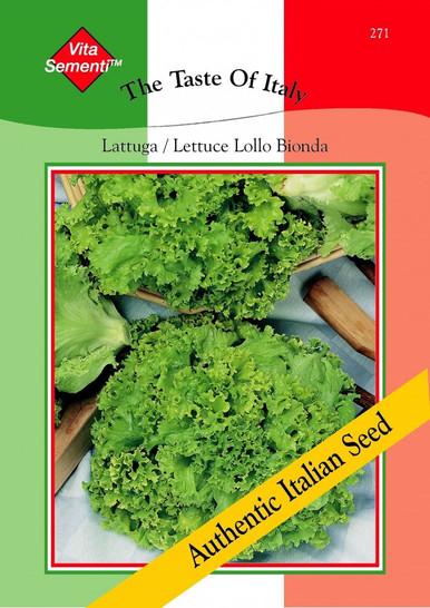 Salatsamen - Salat Lattuga / Lettuce Lollo Bionda von Thompson & Morgan