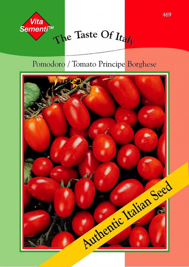 Tomate Pomodoro Principe Borghese | Tomatensamen von Thompson & Morgan