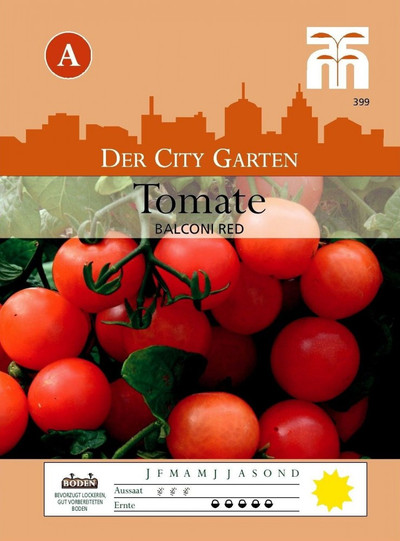 Tomatensamen - Tomate Balconi Red von Thompson & Morgan