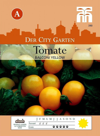 Tomatensamen - Tomate Balconi Yellow von Thompson & Morgan