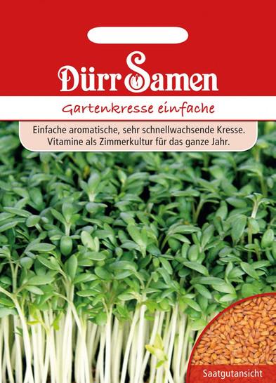 Gartenkresse einfach | Gartenkressesamen von Dürr Samen