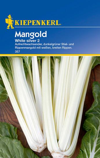Mangoldsamen - Mangold White Silver 2 von Kiepenkerl [MHD 01/2020]