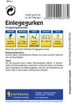 Einlegegurke Vorgebirgstrauben | Einlegegurkensamen von Kiepenkerl