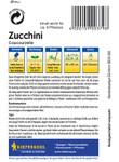Zucchini Coucourzelle | Zucchinisamen von Kiepenkerl