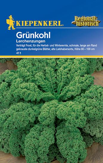 Grünkohl Lerchenzungen | Grünkohlsamen von Kiepenkerl