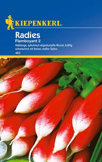 Radieschensamen - Radies Flamboyant 2 von Kiepenkerl [MHD 01/2020]