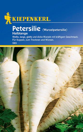 Petersilie (Wurzelpetersilie) Halblange   Wurzelpetersiliensamen von Kiepenkerl