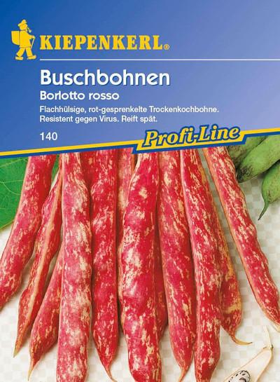 Buschbohne Borlotto Rosso | Buschbohnensamen von Kiepenkerl