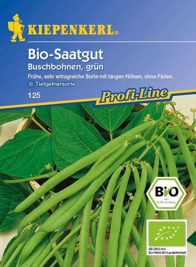 Bohnen - Bio-Buschbohne, grün von Kiepenkerl [MHD 01/2019]