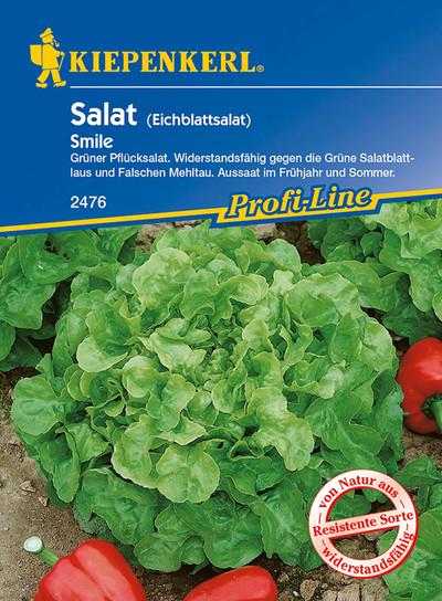 Salatsamen - Eichblattsalat Smile von Kiepenkerl [MHD 01/2020]