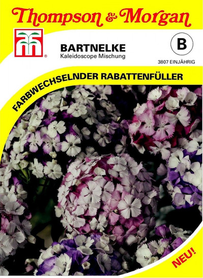 Bartnelke Kaleidoscope Mischung | Bartnelkensamen von Thompson & Morgan