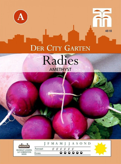 Radieschensamen - Radies Amethyst von Thompson & Morgan