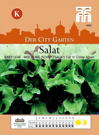 Salatsamen - Salat Babyleaf-Mischung (Schnittsalat) Cut 'n' Come Again von Thompson & Morgan