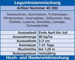 Leguminosenmischung   Wildackersamen von Kiepenkerl
