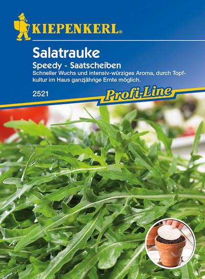 Salatrauke Speedy   Saatscheibe von Kiepenkerl