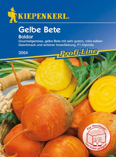 Gelbe Beete Boldor F1 | Gelbe Beetesamen von Kiepenkerl