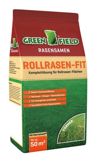 Greenfield Rollrasen-Fit - 3 kg | Rasensamen von Feldsaaten Freudenberger