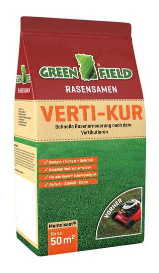 Greenfield Verti-Kur - 3,2 kg | Rasensamen von Feldsaaten Freudenberger