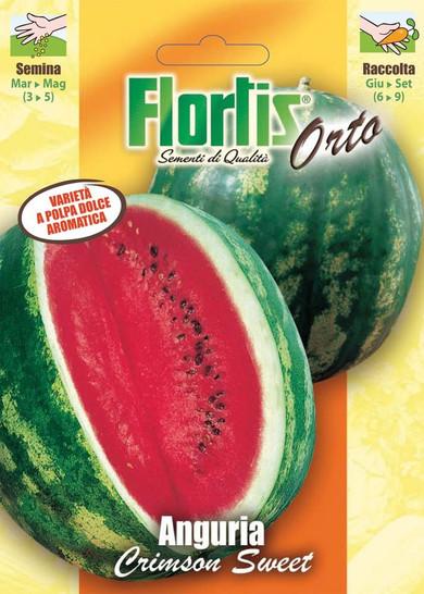 Wassermelone Crimson Sweet | Wassermelonensamen von Flortis