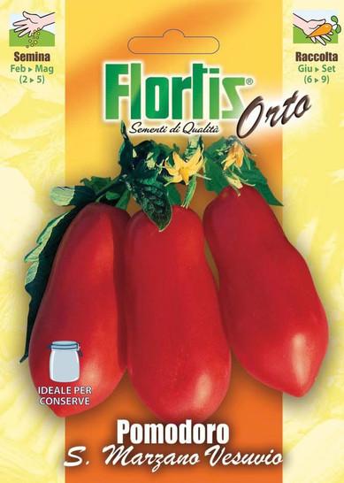 Tomate San Marzano Vesuvio 2 | Tomatensamen von Flortis