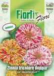 Doppelte Dreifarben-Zinnie Mischung | Zinniensamen von Flortis