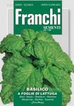 Kräutersamen - Basilikum A Foglie Di Lattuga von Franchi Sementi