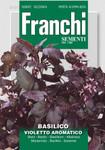 Kräutersamen - Basilikum Violetto Aromatico von Franchi Sementi