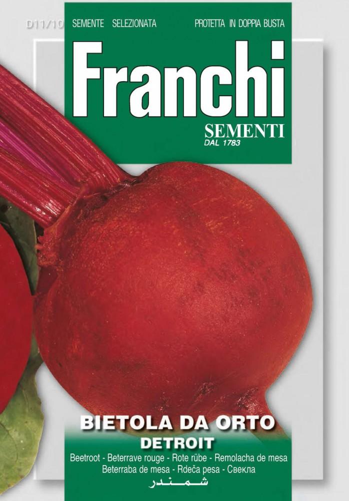 10g Runde Rote Beete Detroit 2 Batlle Gemüsesamen