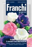Glockenblume Grandiflora Multicolor | Glockenblumesamen von Franchi Sementi