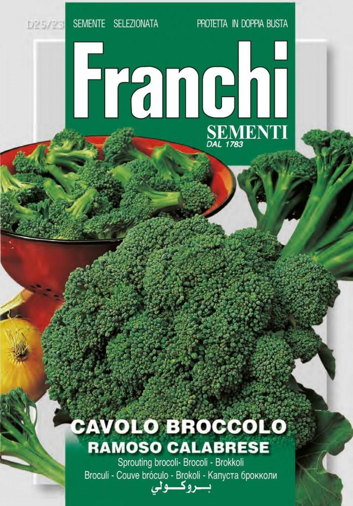 Saatgut Gemüsesamen Brokkoli Ramoso Calabrese