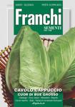 Weisskohl Cappuccio Cuor Di Bue Grosso | Kohlsamen von Franchi Sementi