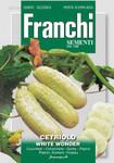 Salatsamen - Gurke White Wonder von Franchi Sementi