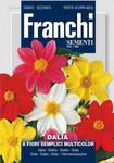 Dahlie A Fiori Semplici Multicolor von Franchi Sementi