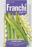 Buschbohne Nano Cannellino | Bohnensamen von Franchi Sementi [MHD 12/2019]